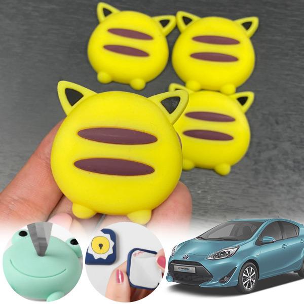 프리우스C(18~) 유카 노랑궁디 도어가드 4p cs14025 차량용품